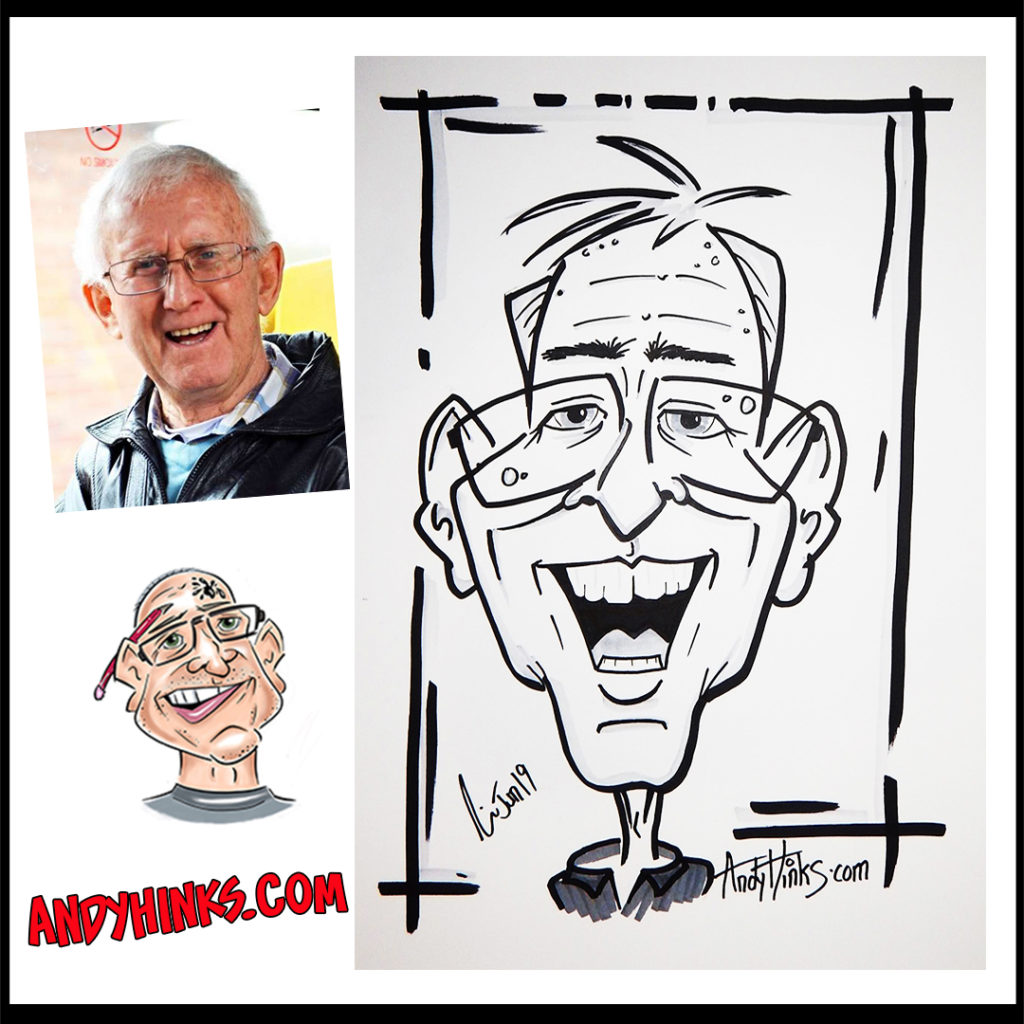 andyhinks.com andy hinks caricature illustration drawing andrew hinks