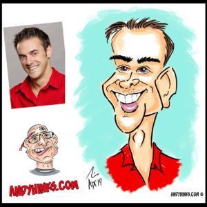 andyhinks.com andy hinks caricature illustration drawing andrew hinks digital quickdraw