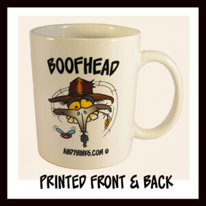 andyhinks.com andy hinks caricature illustration drawing andrew hinks Australia Australiana Australia Australian coffee mug boofhead