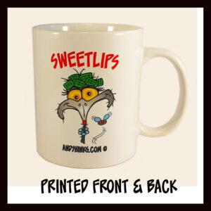 andyhinks.com andy hinks caricature illustration drawing andrew hinks Australia Australiana Australia Australian coffee mug sweetlips